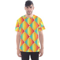 The Colors Of Summer Men s Sport Mesh Tee