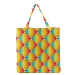 The Colors Of Summer Grocery Tote Bag
