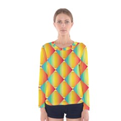 The Colors Of Summer Women s Long Sleeve Tee