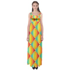 The Colors Of Summer Empire Waist Maxi Dress