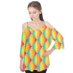 The Colors Of Summer Flutter Tees