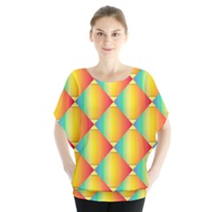 The Colors Of Summer Blouse