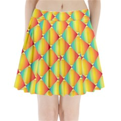 The Colors Of Summer Pleated Mini Skirt