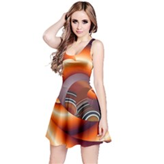 The Touch Digital Art Reversible Sleeveless Dress