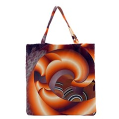The Touch Digital Art Grocery Tote Bag