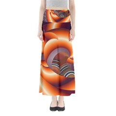 The Touch Digital Art Maxi Skirts