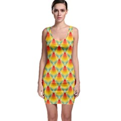 The Colors Of Summer Sleeveless Bodycon Dress