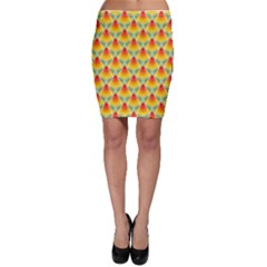 The Colors Of Summer Bodycon Skirt