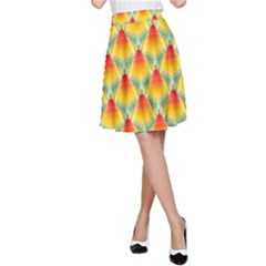 The Colors Of Summer A Line Skirt