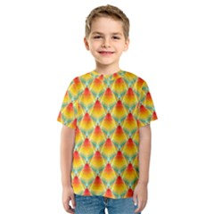 The Colors Of Summer Kids  Sport Mesh Tee
