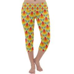 The Colors Of Summer Capri Yoga Leggings