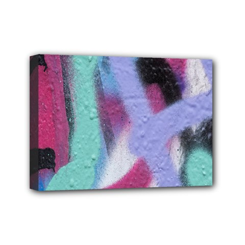 Texture Pattern Abstract Background Mini Canvas 7  x 5