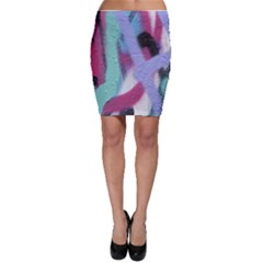 Texture Pattern Abstract Background Bodycon Skirt