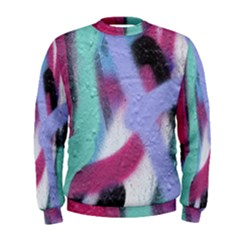 Texture Pattern Abstract Background Men s Sweatshirt