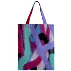 Texture Pattern Abstract Background Zipper Classic Tote Bag