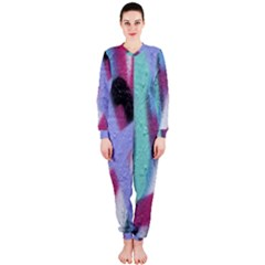 Texture Pattern Abstract Background Onepiece Jumpsuit (ladies)