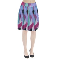 Texture Pattern Abstract Background Pleated Skirt