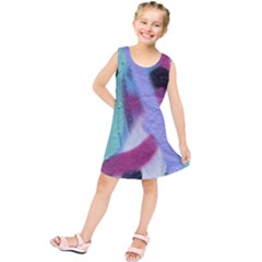 Texture Pattern Abstract Background Kids  Tunic Dress