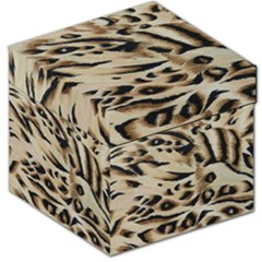 Tiger Animal Fabric Patterns Storage Stool 12