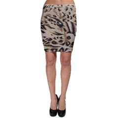 Tiger Animal Fabric Patterns Bodycon Skirt