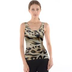 Tiger Animal Fabric Patterns Tank Top