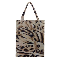 Tiger Animal Fabric Patterns Classic Tote Bag