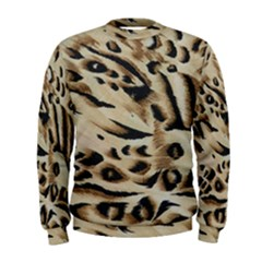Tiger Animal Fabric Patterns Men s Sweatshirt