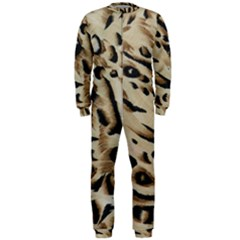 Tiger Animal Fabric Patterns Onepiece Jumpsuit (men)