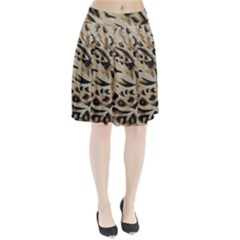 Tiger Animal Fabric Patterns Pleated Skirt