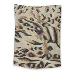 Tiger Animal Fabric Patterns Medium Tapestry