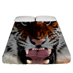 Tiger  Fitted Sheet (king Size)