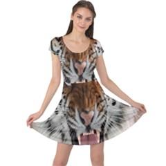 Tiger  Cap Sleeve Dresses