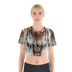 Tiger  Cotton Crop Top