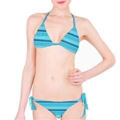 The Background Strips Bikini Set