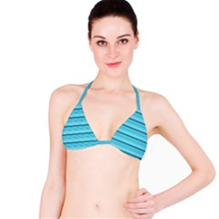 The Background Strips Bikini Top