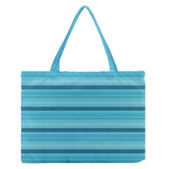 The Background Strips Medium Zipper Tote Bag
