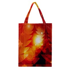 Tree Trees Silhouettes Silhouette Classic Tote Bag