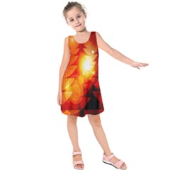 Tree Trees Silhouettes Silhouette Kids  Sleeveless Dress
