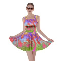 Tree Colorful Mystical Autumn Skater Dress
