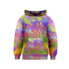 Tree Colorful Mystical Autumn Kids  Pullover Hoodie