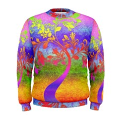 Tree Colorful Mystical Autumn Men s Sweatshirt