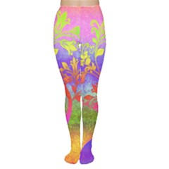 Tree Colorful Mystical Autumn Women s Tights