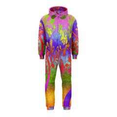 Tree Colorful Mystical Autumn Hooded Jumpsuit (Kids)