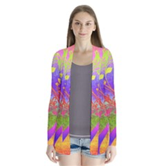 Tree Colorful Mystical Autumn Cardigans