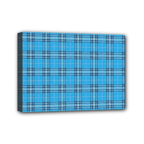 The Checkered Tablecloth Mini Canvas 7  x 5