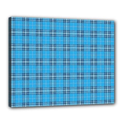The Checkered Tablecloth Canvas 20  x 16