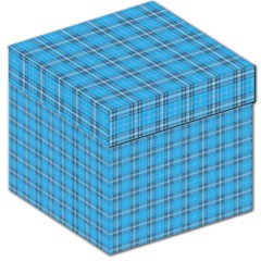The Checkered Tablecloth Storage Stool 12