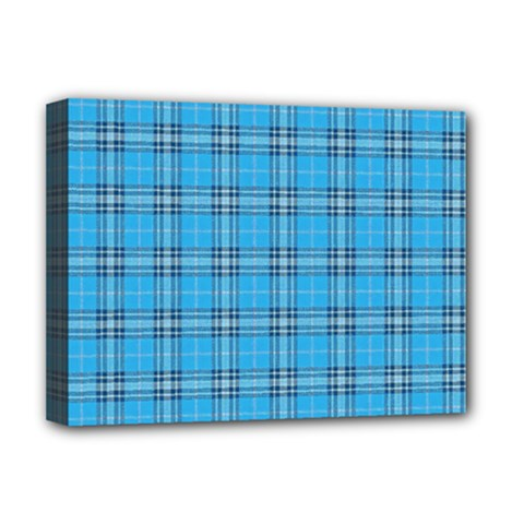 The Checkered Tablecloth Deluxe Canvas 16  x 12
