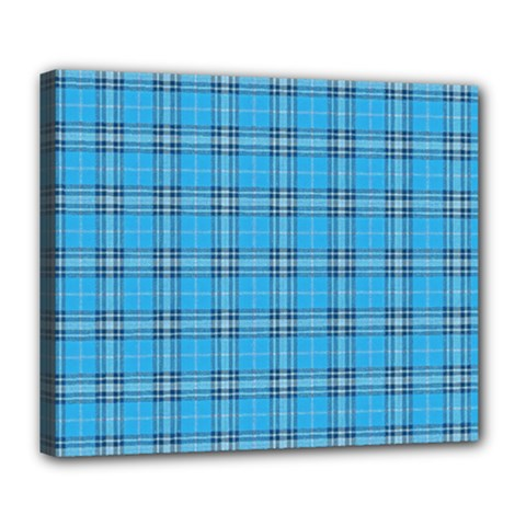The Checkered Tablecloth Deluxe Canvas 24  X 20