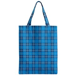 The Checkered Tablecloth Zipper Classic Tote Bag